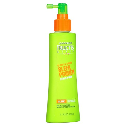 WHOLESALE GARNIER FRUCTIS SLEEK & SHINE SLEEK PRIMER STYLE PREP 5.1 OZ - 48 PIECE LOT