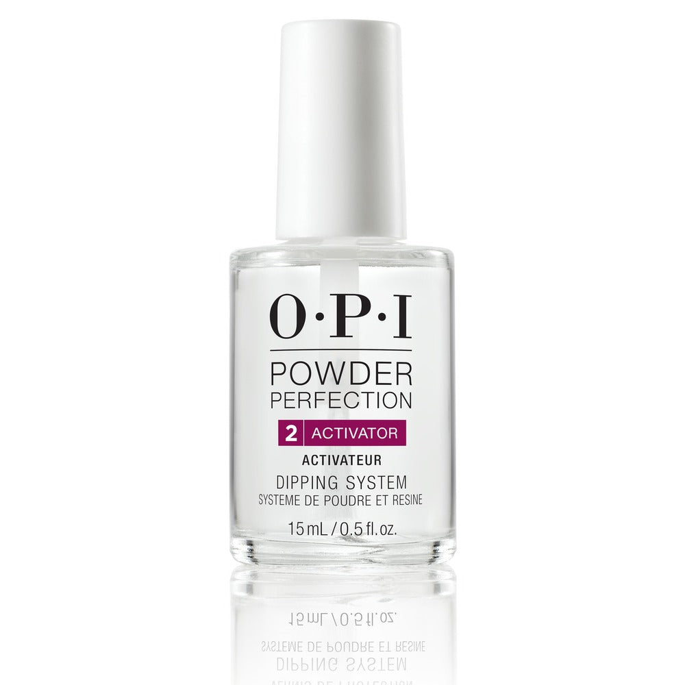 WHOLESALE OPI POWDER PERFECTION ACTIVATOR 2 DIPPING SYSTEM 0.5 OZ - 48 PIECE LOT