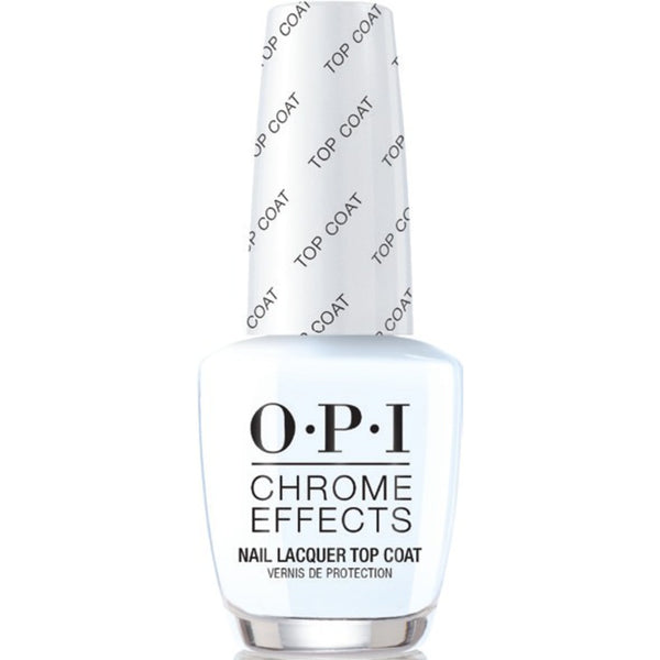WHOLESALE OPI CHROME EFFECTS NAIL LACQUER TOP COAT 0.5 OZ - 48 PIECE LOT