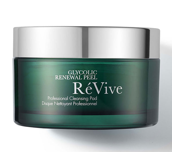 WHOLESALE REVIVE GLYCOLIC RENEWAL PEEL PROFESSIONAL CLEANSING PAD - 30 PADS - 18 PIECE LOT