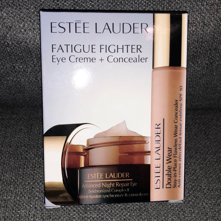WHOLESALE ESTEE LAUDER FATIGUE FIGHTER EYE CREME + CONCEALER SET - 42 PIECE LOT