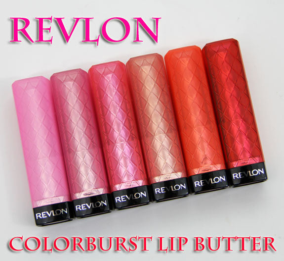 WHOLESALE REVLON COLORBURST LIP BUTTER ASSORTED - 72 PIECE LOT