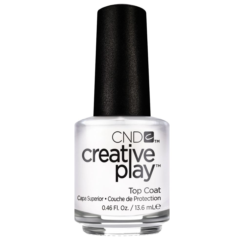 WHOLESALE CND CREATIVE PLAY TOP COAT 0.46 FL. OZ.  - 48 PIECE LOT