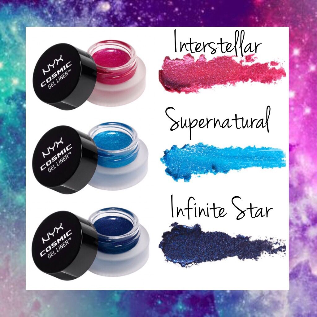 WHOLESALE NYX COSMETICS COSMIC GEL LINER ASSORTED COLORS - 50 PIECE LOT