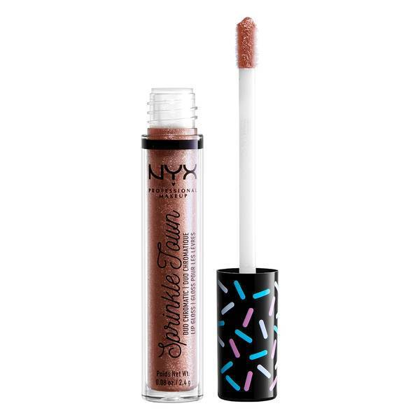 WHOLESALE NYX COSMETICS SPRINKLE TOWN DUO CHROMATIC LIP GLOSS - SHIMMER CRAVINGS - 50 PIECE LOT