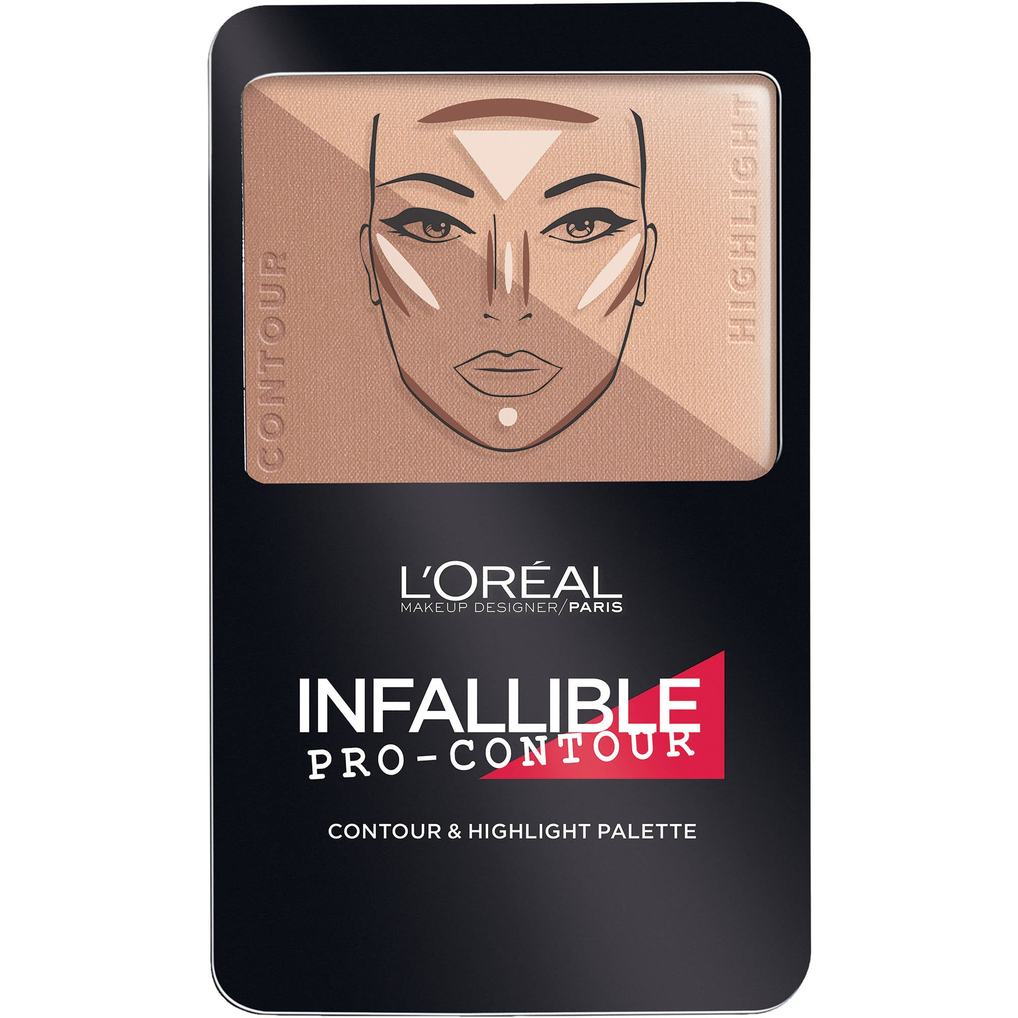 WHOLESALE LOREAL INFALLIBLE PRO-CONTOUR CONTOUR & HIGHLIGHT PALETTE - DEEP 815 - 48 PIECE LOT