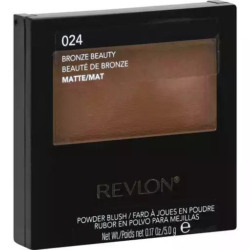 WHOLESALE REVLON POWDER BLUSH - BRONZE BEAUTY 024 - 48 PIECE LOT