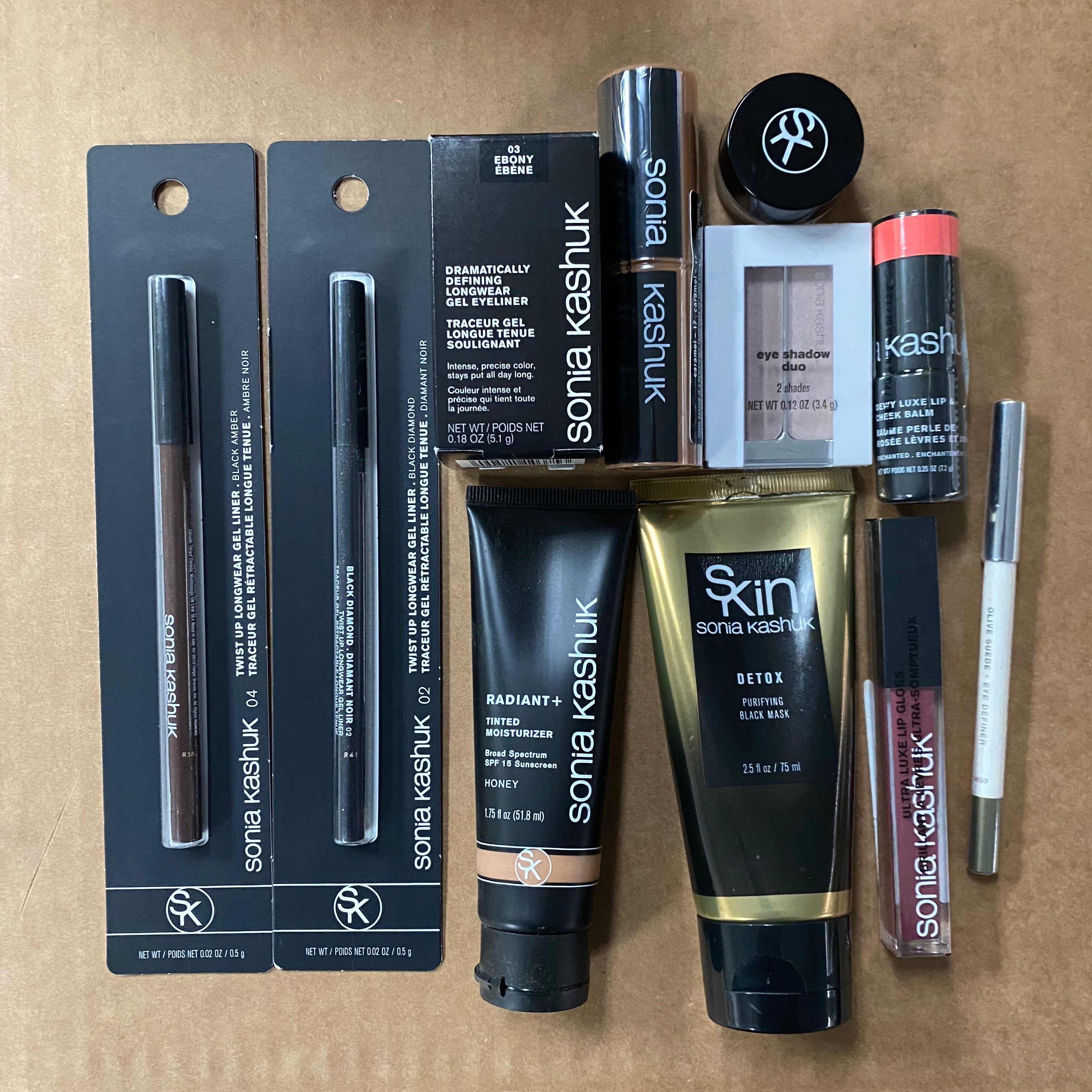 WHOLESALE ASSORTED SONIA KASHUK COSMETICS LOT - 50 PIECE LOT