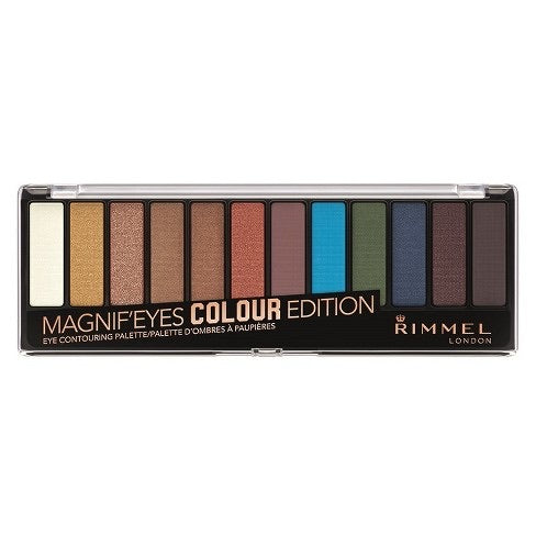 WHOLESALE RIMMEL MAGNIF'EYES EYESHADOW PALETTE - COLOUR EDITION - 48 PIECE LOT