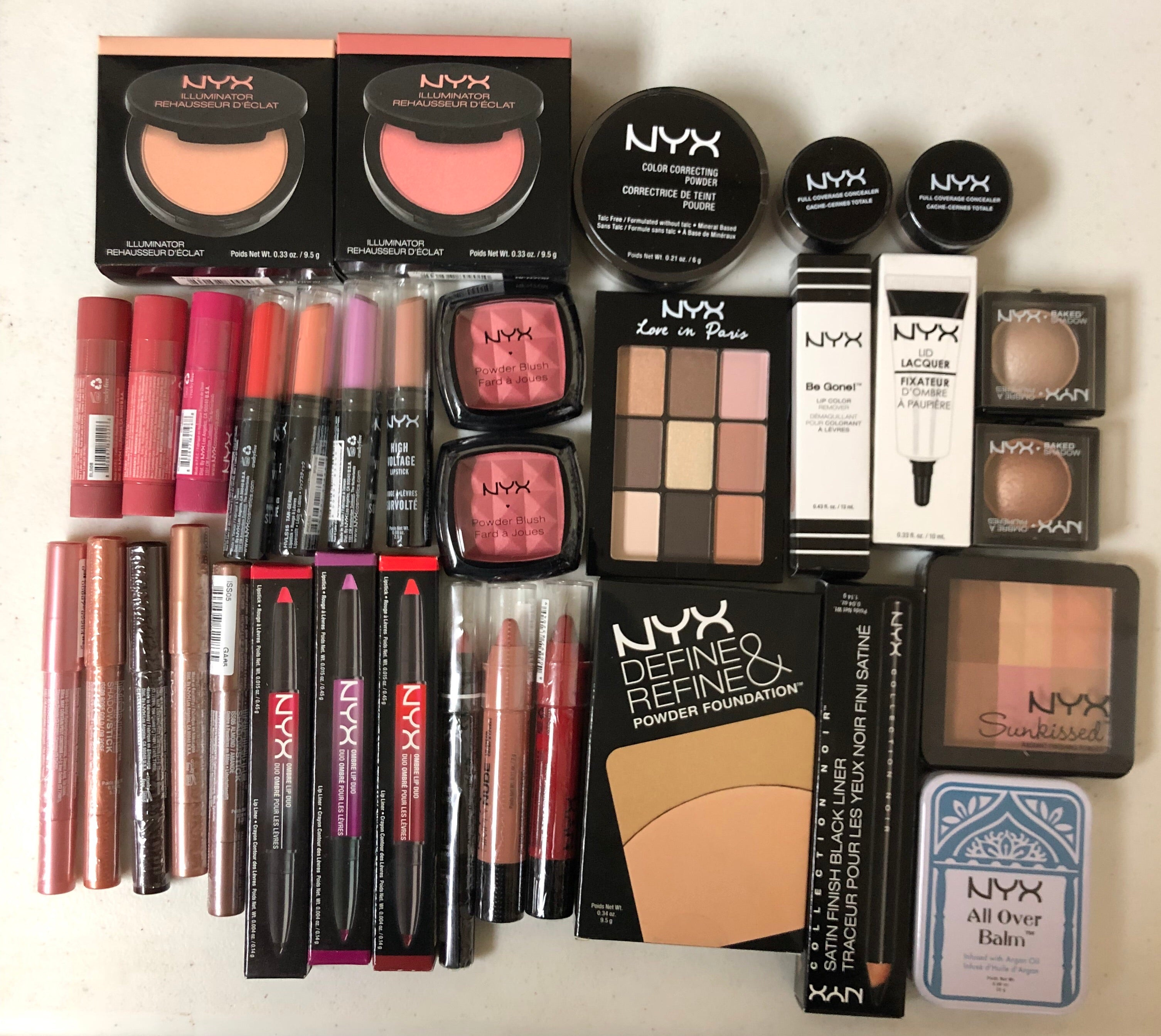 WHOLESALE ASSORTED NYX COSMETICS MAKEUP MIXED LOT - YOU CHOOSE THE QUANTITY!