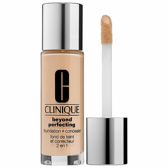 WHOLESALE CLINIQUE BEYOND PERFECTING FOUNDATION + CONCEALER  1 OZ - CN 0.5 SHELL - 35 PIECE LOT