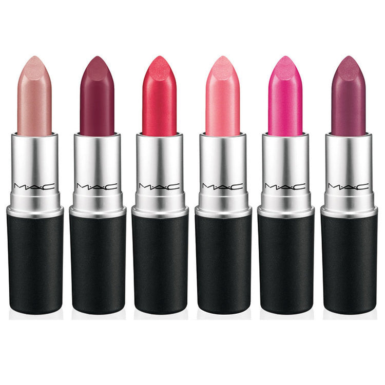 WHOLESALE MAC LIPSTICK ASSORTED MIXED LOT BOXED - 50 PIECE LOT