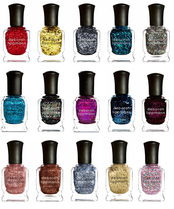 WHOLESALE DEBORAH LIPPMANN NAIL POLISH ASSORTED COLORS BOXED - 100 PIECE LOT
