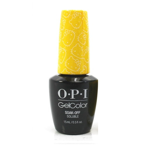 WHOLESALE OPI HELLO KITTY GELCOLOR SOAK-OFF GEL NAIL LACQUER POLISH 0.5 OZ. - MY TWIN MIMMY - 48 PIECE LOT