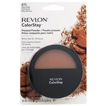 WHOLESALE REVLON COLORSTAY PRESSED POWDER - VERY DEEP 870 - 36 PIECE LOT