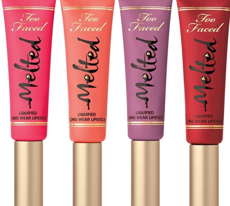 WHOLESALE TOO FACED MELTED LIPSTICK ASSORTED - 50 PIECE LOT