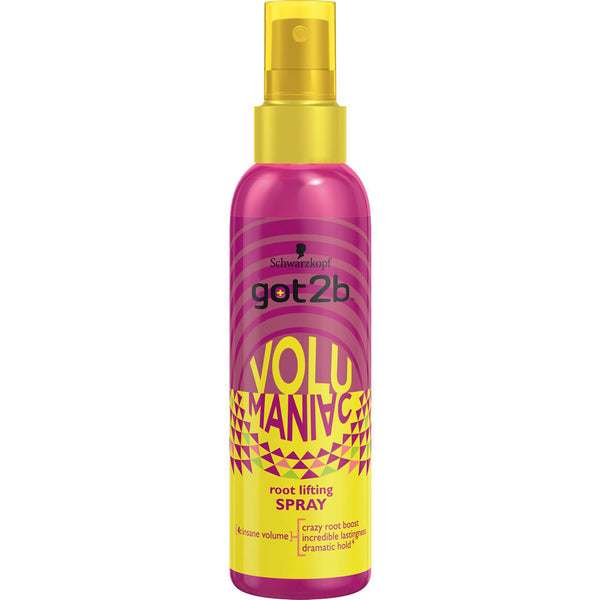 WHOLESALE Schwarzkopf GOT2B VOLUMANIAC ROOT LIFTING SPRAY 6.1 OZ. - 48 PIECE LOT