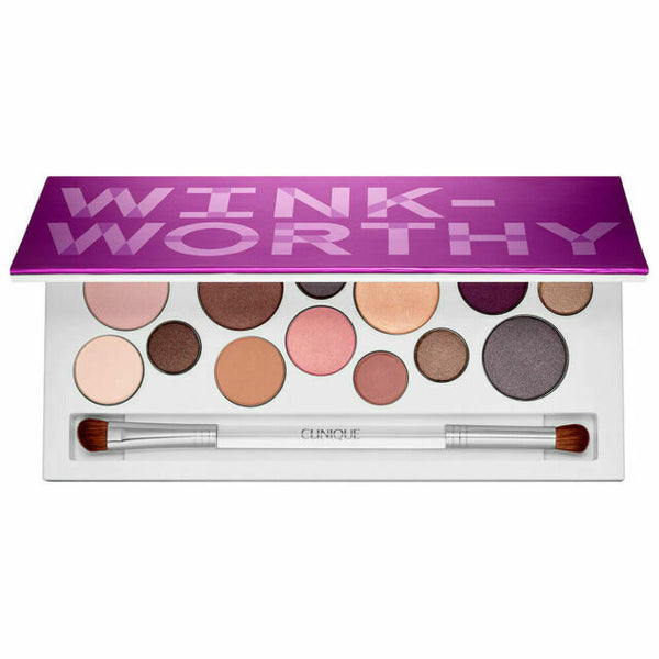 WHOLESALE CLINIQUE WINK-WORTHY ALL ABOUT SHADOW PALETTE - 19 PIECE LOT
