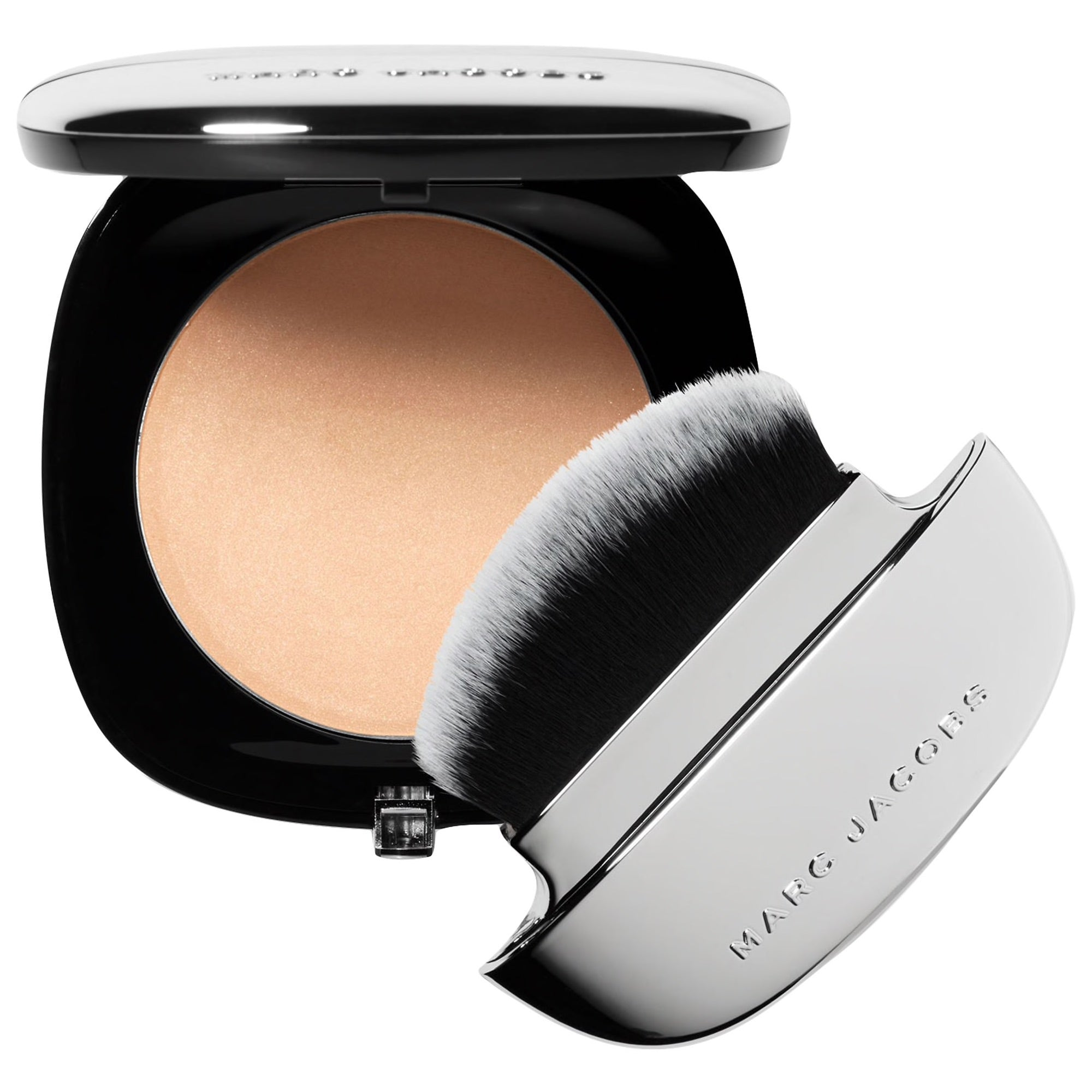 WHOLESALE MARC JACOBS ACCOMPLICE INSTANT BLURRING BEAUTY POWDER WITH BRUSH 0.35 OZ - INGENUE 50 - 48 PIECE LOT