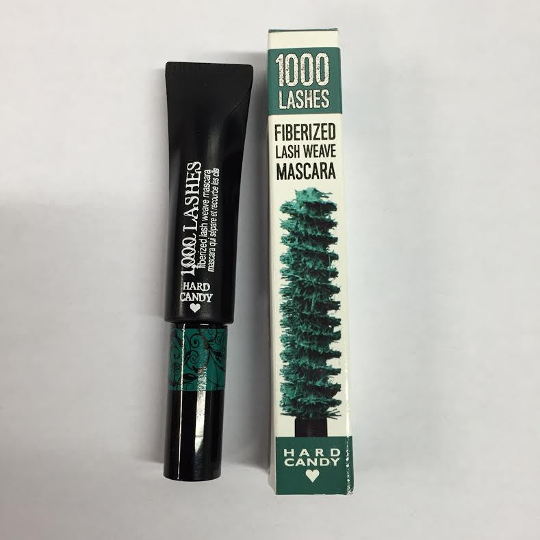 WHOLESALE HARD CANDY 1,000 1000 LASHES FIBERED LASH WEAVE MASCARA - MERMAID TEAL 284 - 100 PIECE LOT