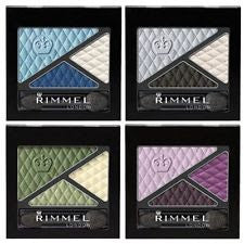 WHOLESALE RIMMEL GLAM EYES EYE SHADOW TRIO ASSORTED - 100 PIECE LOT