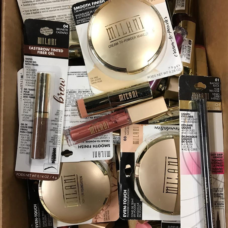 WHOLESALE ASSORTED MILANI COSMETICS LOT - 100 PIECE LOT