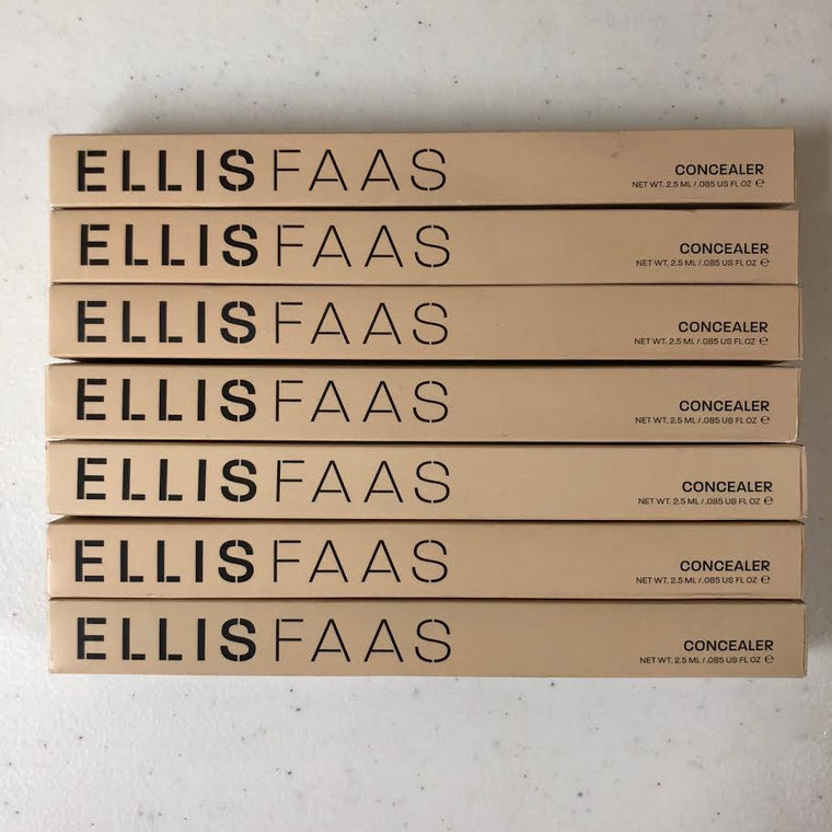WHOLESALE ASSORTED ELLIS FAAS CONCEALER 0.085 OZ - 81 PIECE LOT