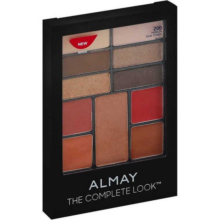 WHOLESALE ALMAY THE COMPLETE LOOK PALETTE - MEDIUM 200 - 50 PIECE LOT