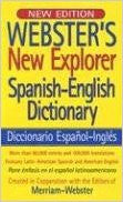 Webster's New Explorer Spanish-English Dictionary (Spanish Edition)