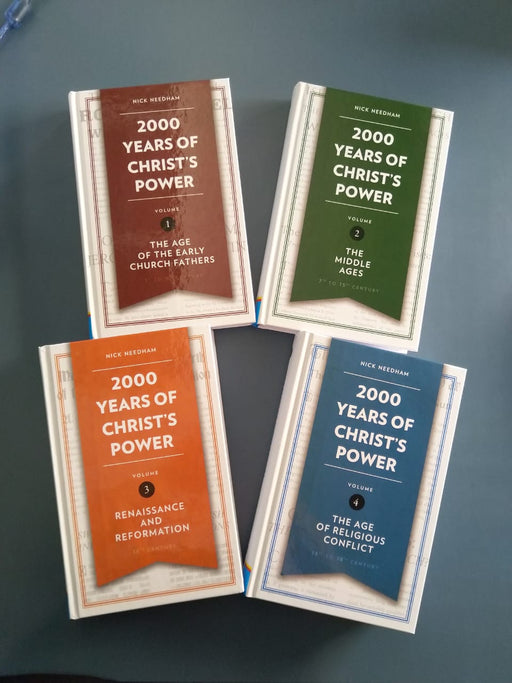 2000 Years of Christ's Power-4 Volumes
