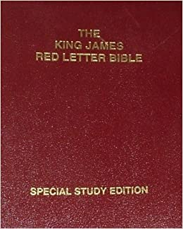 The King James Red Letter Bible