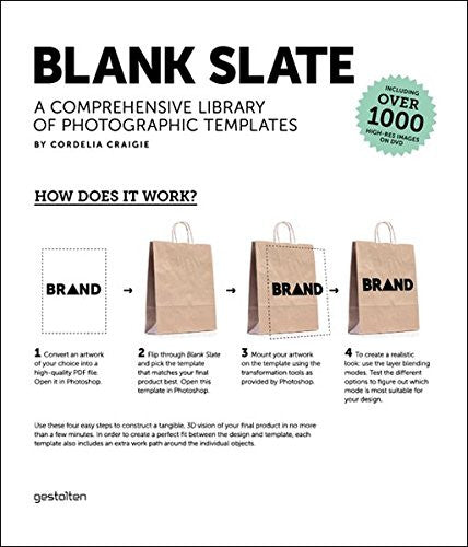 Blank Slate: A Comprehensive Library of Photographic Dummies