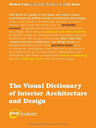 The Visual Dictionary of Interior Architecture and Design (Visual Dictionaries)