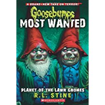 Goosebumps Most wanted lawn gnomes