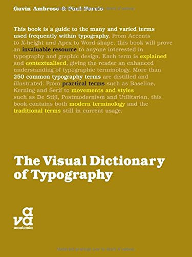 The Visual Dictionary of Typography (Visual Dictionaries)