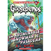 Goosebumps abominable snowman of pasadena