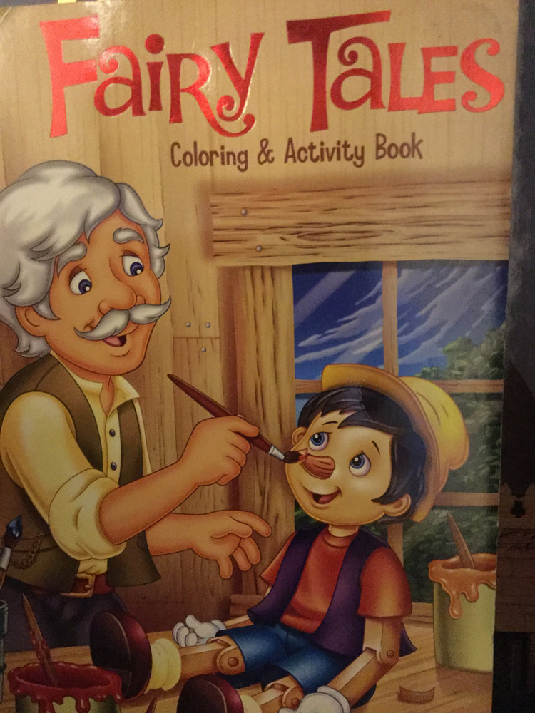 Fairy tales - Coloring and activity book