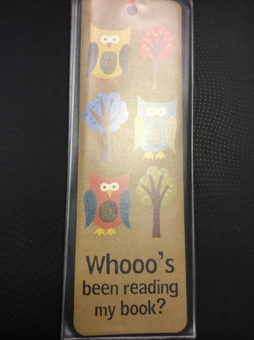 Bookmark Whooo's Been Reading my Book?