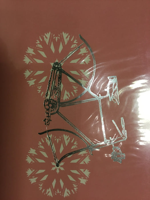 Snowflake bicycle
