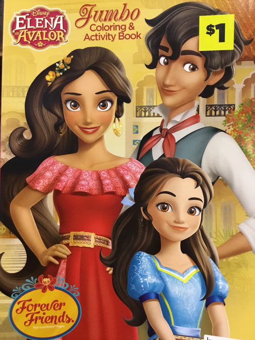 Elena of Avalor Coloring book