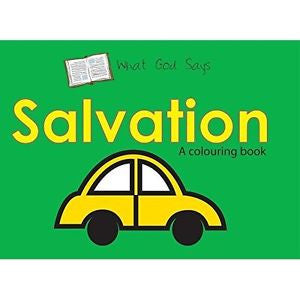 What God Says: Salvation (Bible Art)