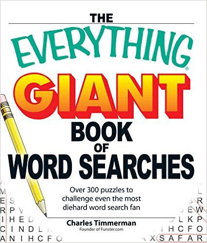 The Everything Giant Book of Word Search