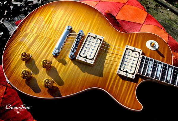 New Gibson Les Paul 2018 Traditional • Honey Burst • CreamTone Vintage Design