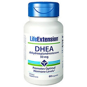 Life Extension Dhea 50 mg 60 caps-Speedy Health Supplements
