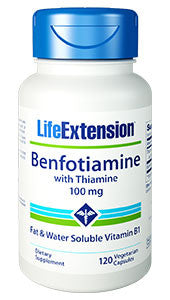 Life Extension Benfotiamine with Thiamine Capsule, 120-Count-Speedy Health Supplements