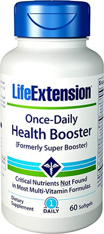 Life Extension Health Booster Once Daily - 60 Sgels