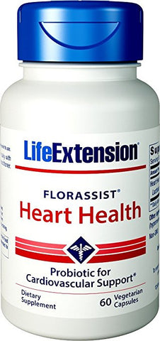 Life Extension FlorAssist Heart Health Probiotic -60 vcaps-Speedy Health Supplements