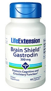 Life Extension Brain Shield® Gastrodin, 300 mg, 60 vcaps-Speedy Health Supplements