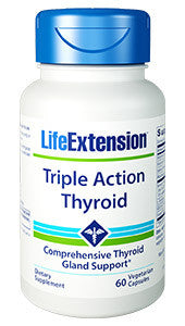 Life Extension Triple Action Thyroid 60 capsules-Speedy Health Supplements
