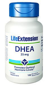 Life Extension DHEA 25 Mg Tablets 100 Count-Speedy Health Supplements